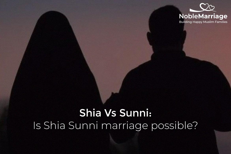 Shia Sunni marriage