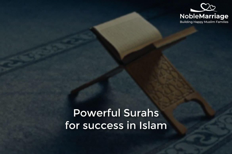 surahs for success